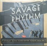 "2x LP / VA ✦✦ SAVAGE RHYTHM ✦✦ ""Swingin' Dance Floor Sounds To Blow Your Top"""